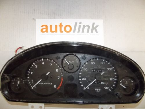 Instrument cluster panel, Mazda MX-5 mk1 NB53, mph, USED